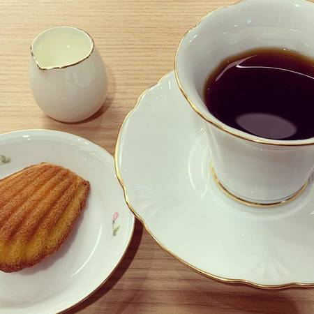 バーンホーフのカフェタイム