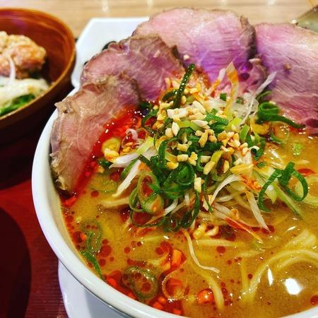 担々麺定食