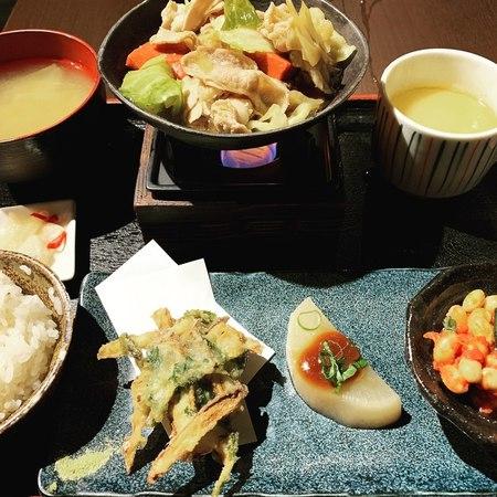 近江野菜おばんざい炙り石焼き御膳