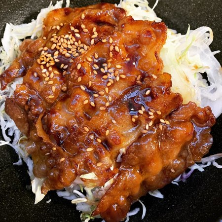 梅田スタンド網焼き豚バラ弁当2