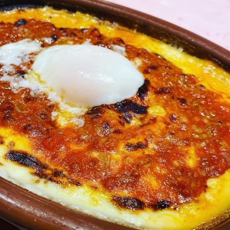 サイゼリヤランチ 半熟卵のミラノ風ドリア1