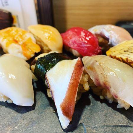 茶屋町Marry寿司ランチ縁1