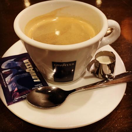 Pierrot de Pierrotホットコーヒー