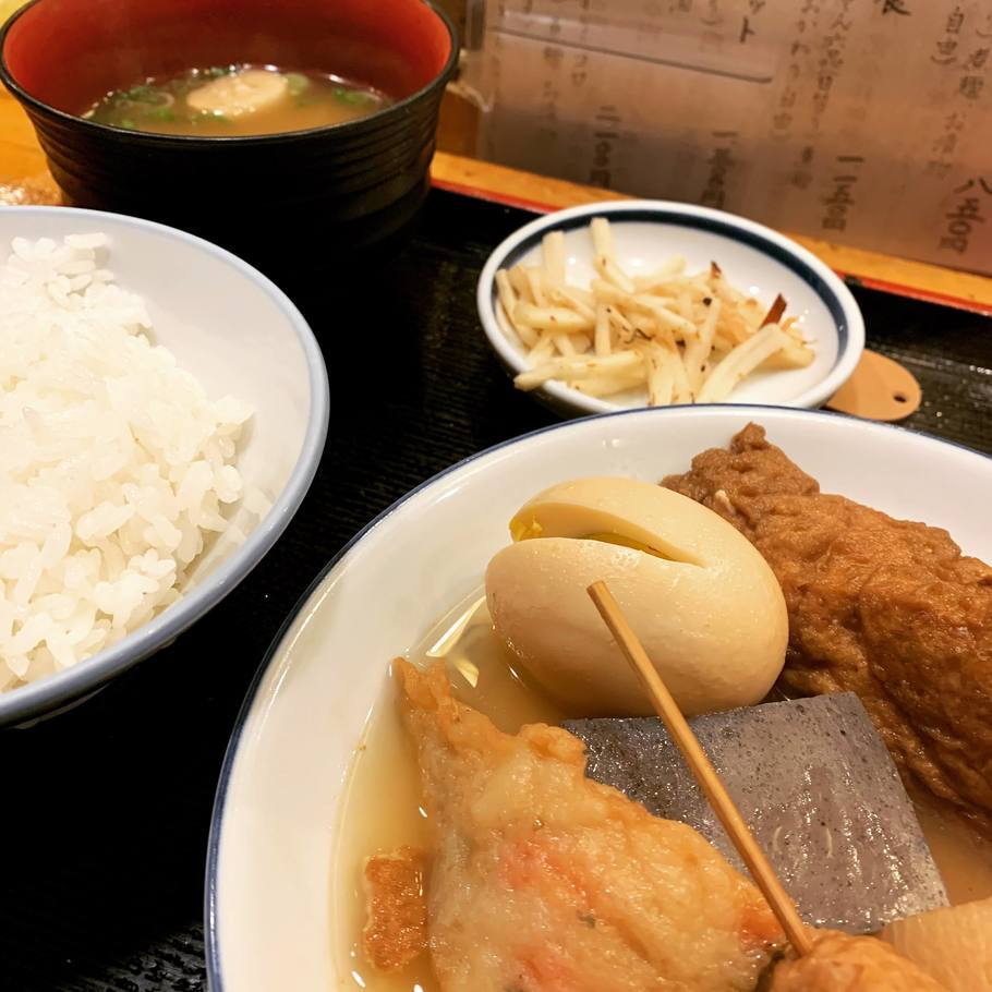 関東煮(かんとだき)定食
