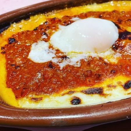 サイゼリヤランチ 半熟卵のミラノ風ドリア2
