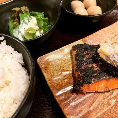 炉端焼きぱちぱち焼き魚定食3