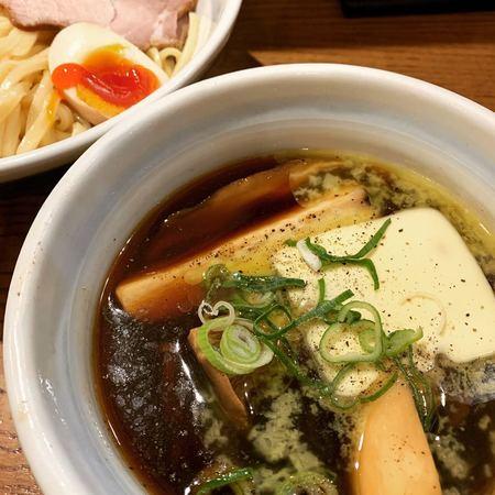 きのこバターつけ麺