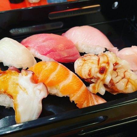 富久佳 日替わり寿司6種2