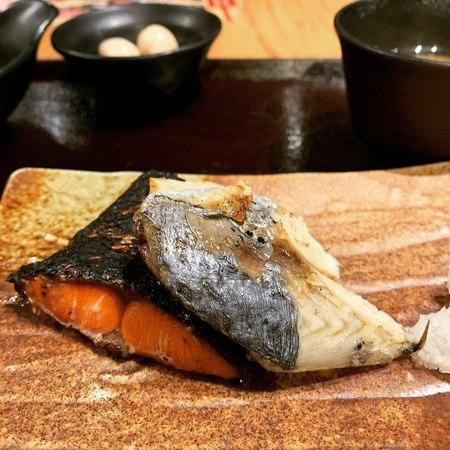 炉端焼きぱちぱち焼き魚定食1