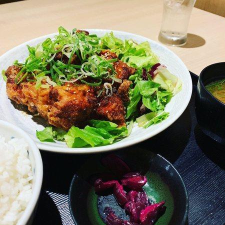 鶏っくTHE唐揚定食2