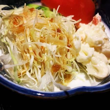京の町ランチ野菜サラダ