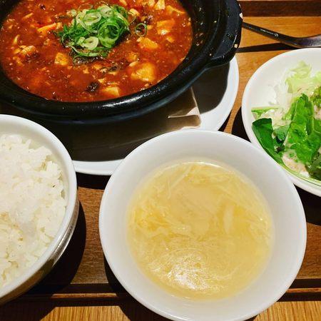 龍福小籠堂麻婆豆腐セット1