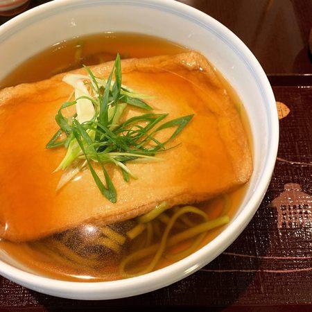 宇治園喫茶去の生茶麺大判きつね2