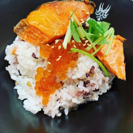 暫 SHIBARAKU紅鮭とイクラ茶づけ1