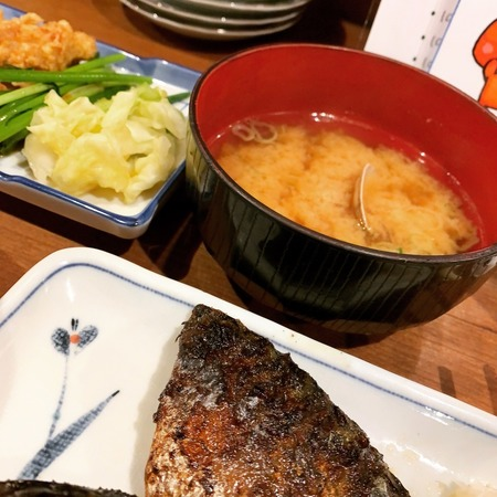 徳田酒店あさり味噌汁