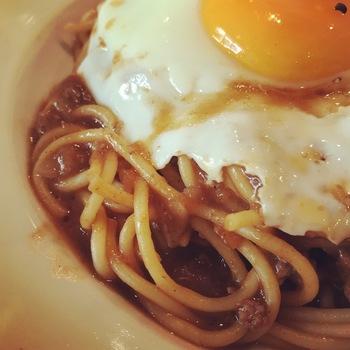 カレーミートスパゲティ