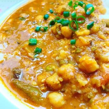 豆と野菜カレー