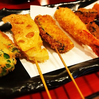 赤とんぼ串カツ定食3
