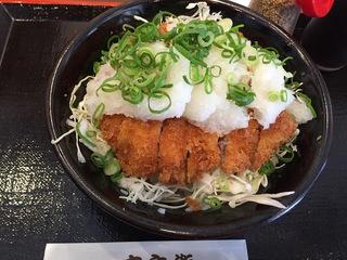 おろしトンカツ(丼)