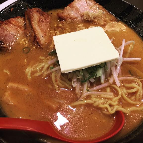 北海道百年味噌炙りチャーシューメン