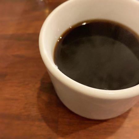 トリコミートのランチはコーヒー付き
