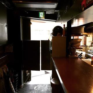 タモンズカフェ店内