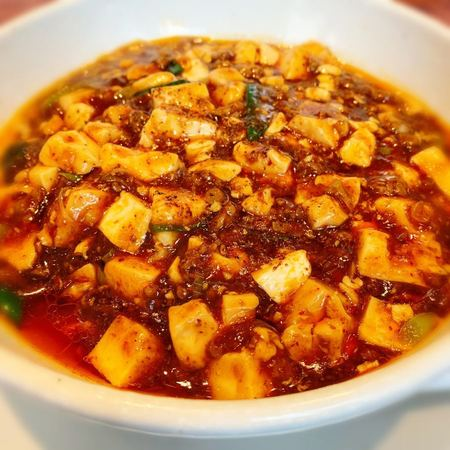 蝋燭屋の麻婆麺1