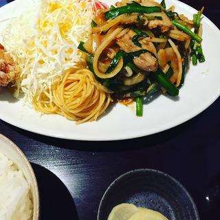 豚ニラ炒めスタミナ定食