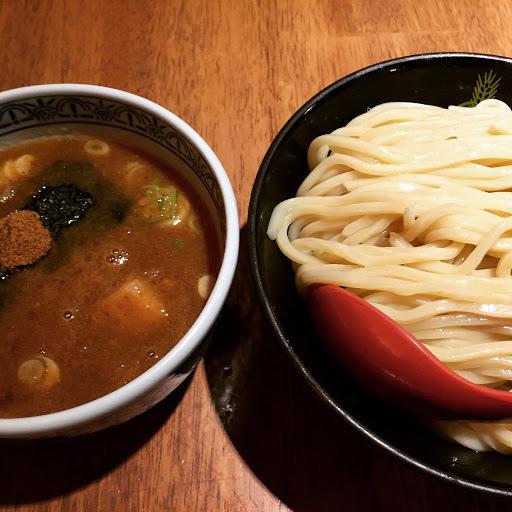 つけ麺(大)セットメニュー唐揚げ