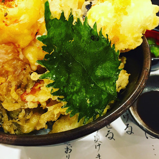 天丼ランチ