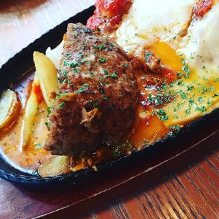 選べるお肉とハンバーグのセット