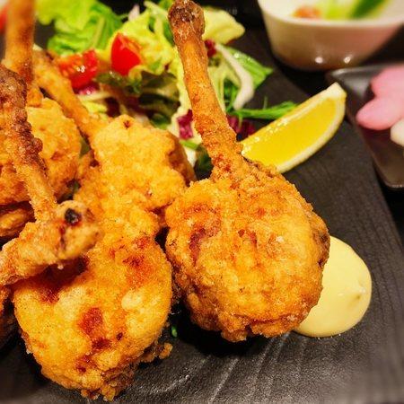 近江の鶏の唐揚げチューリップ2