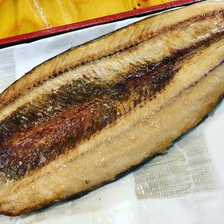 限定サービス定食:秋刀魚