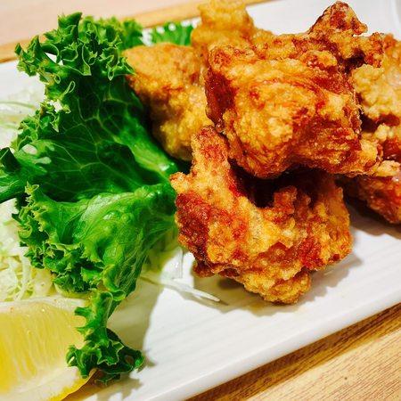 鶏のこんがり黄金唐揚定食