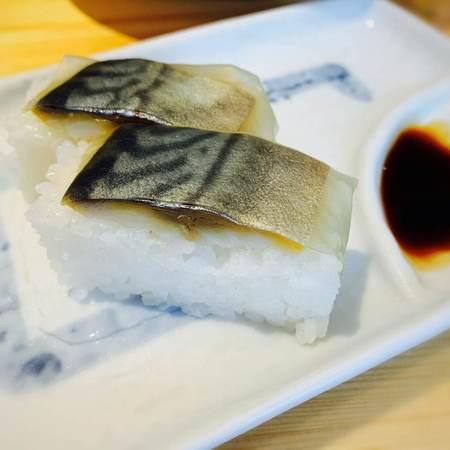 サバ6製麺所のサバ寿司