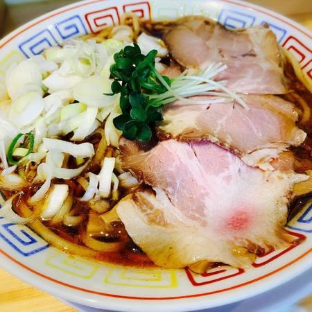 サバ6製麺所のサバ醤油そば1