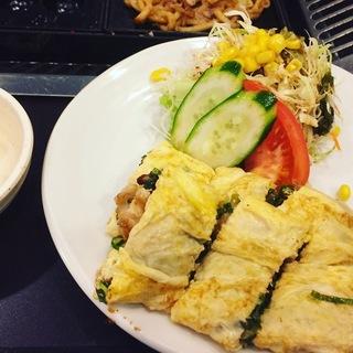 蛸之徹:とんぺい焼定食-3
