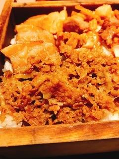肉めし定食1