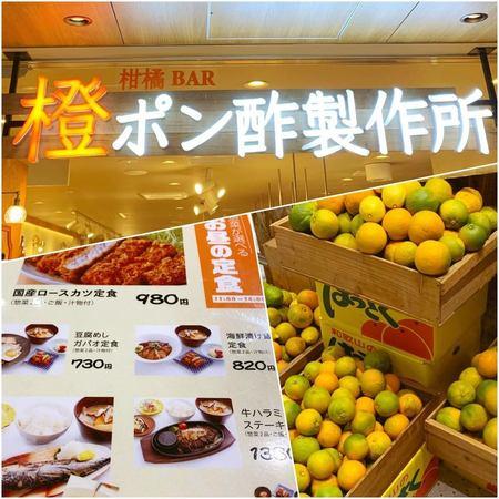 柑橘バル 橙ポン酢製作所