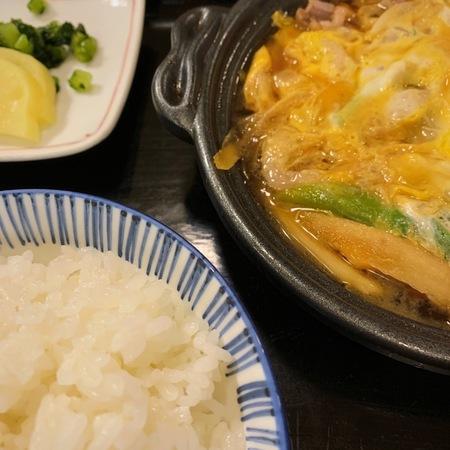 若水の鴨柳川定食2