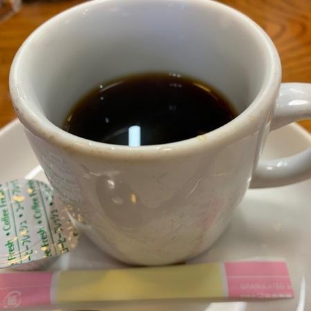 東天満でんランチコーヒーサービス