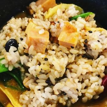 ランチセット(春野菜のスープカレー)