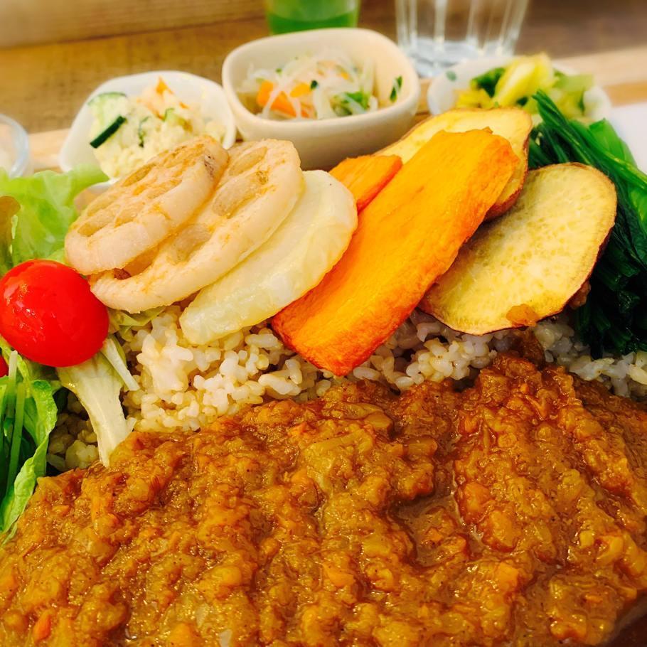 野菜たっぷり玄米カレー