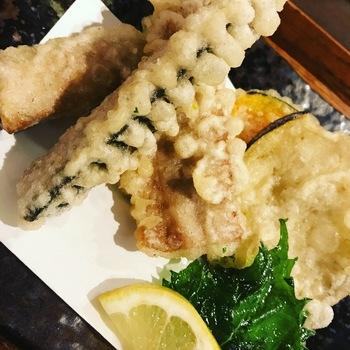 若さば天ぷら定食