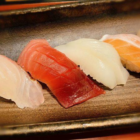 にぎり寿司十貫定食