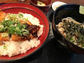 酉乃市みそカツ丼定食