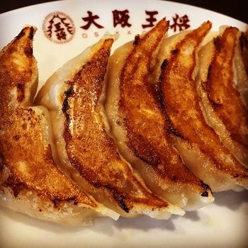 天津飯と餃子セット