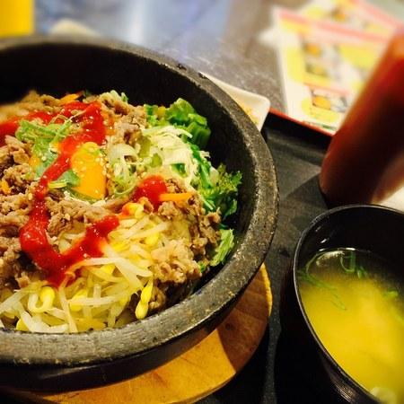 ここチキン 中崎町店 石焼プルゴギ丼1