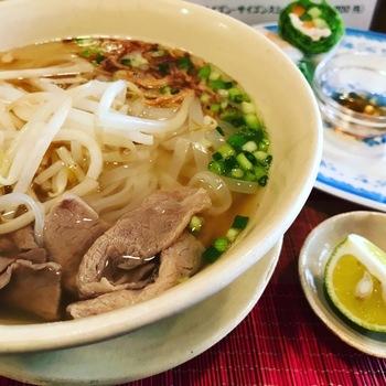 hoamaiお米の麺ランチ