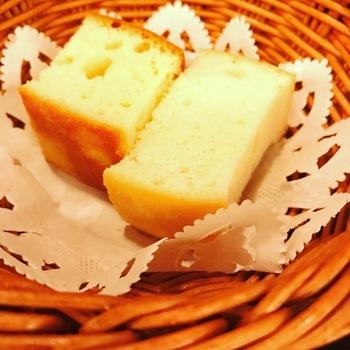 ボノパスタランチのパン